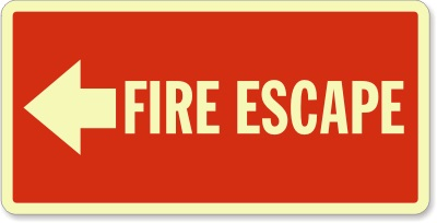 Fire-Escape-Emergency-Sign-S-1632