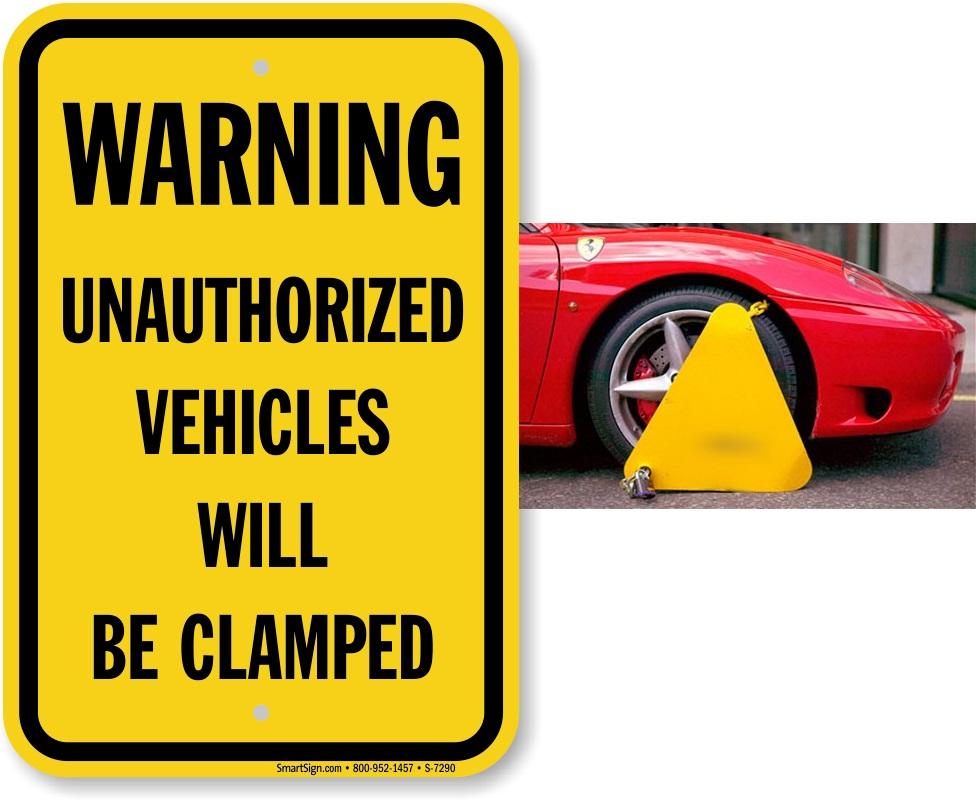 warning-unauthorized-vehicles-sign-s-7290